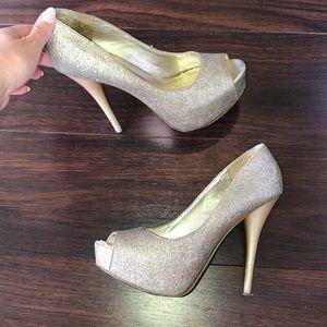 Steve Madden glitter heels